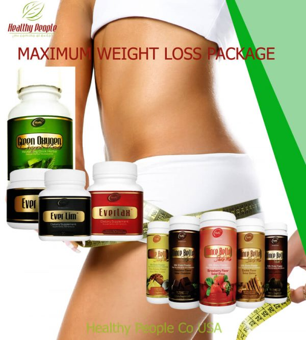 MAX WEIGHT LOSS PACKAGE [Laxmax-Lim-Goxy-Lim/laxGel-shake] Healthy People Products