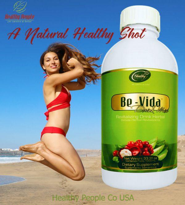"BeVida ""A Natural Healthy Shot"""