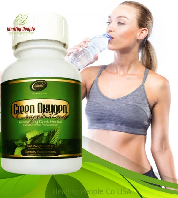 """Green Oxygen - """"Oxygenate and Purify your Whole Body"""""""